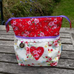 garden party wash bag