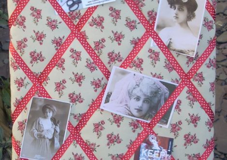 chalfont roses pinboard